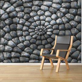 Circles stones background